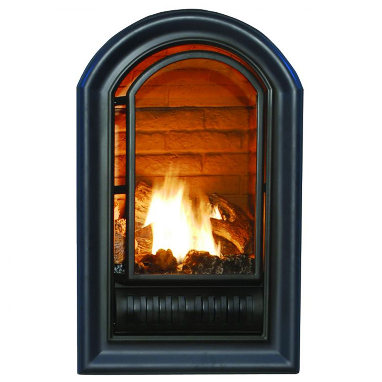 ventless liquid propane fireplace insert 20 000 btu procom heating