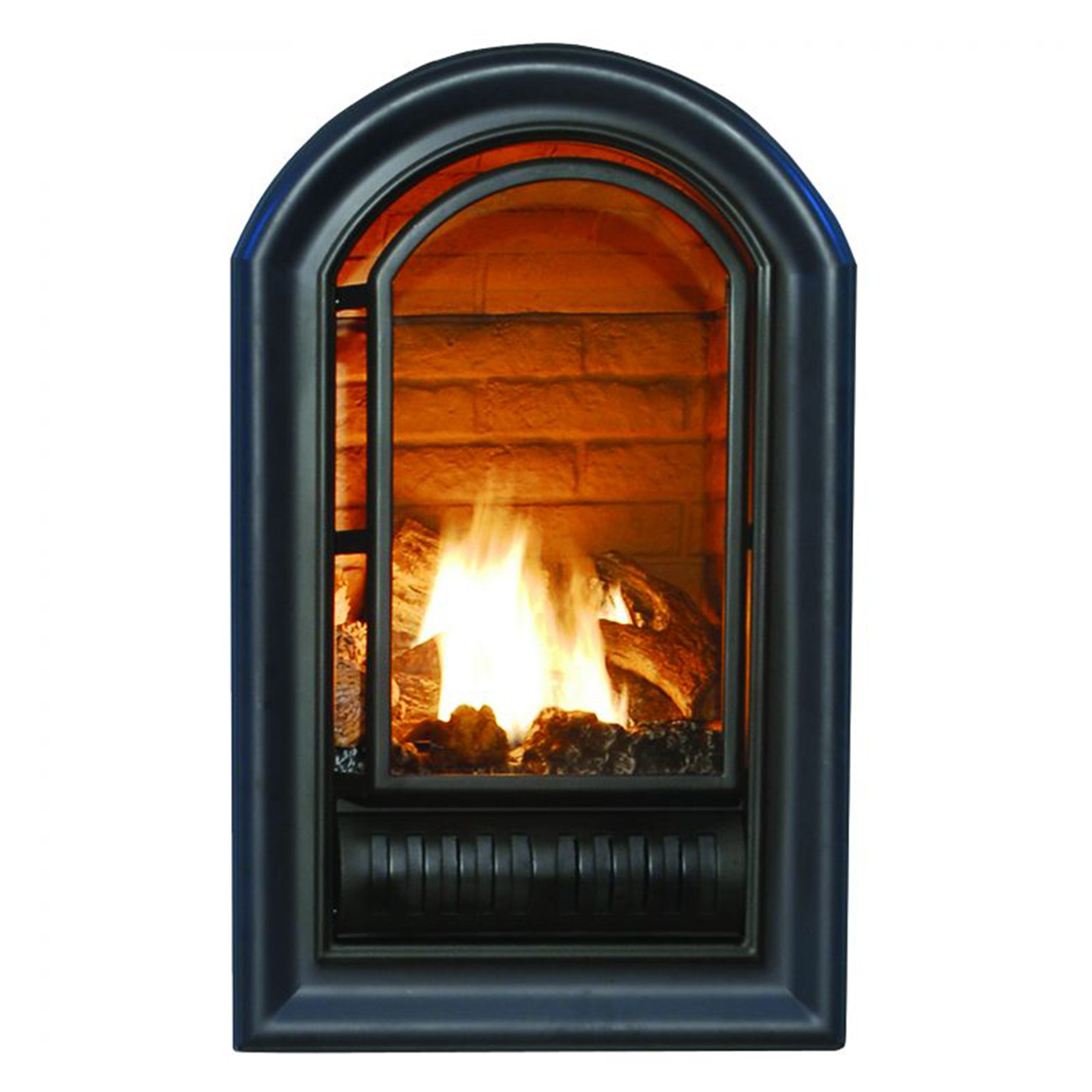 Ventless Fireplace: HearthSense Dual Fuel Ventless Fireplace, 15,000 BTU's