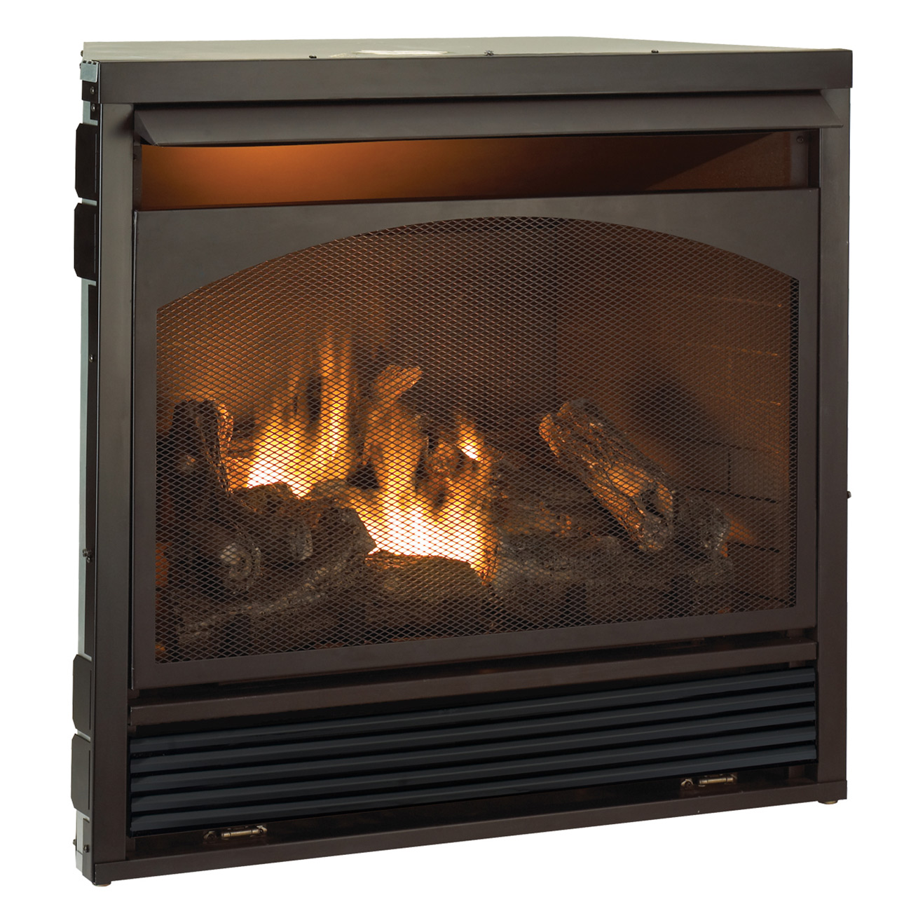Gas Fireplace Insert Dual Fuel Technology With Remote