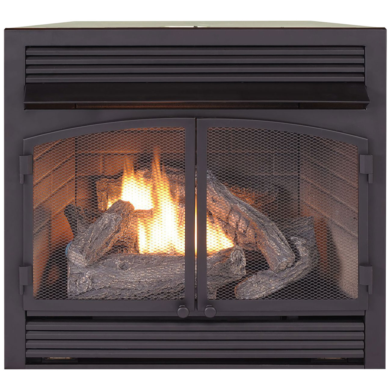 Dual Fuel Fireplace Insert Zero Clearance 32 000 Btu Procom Heating