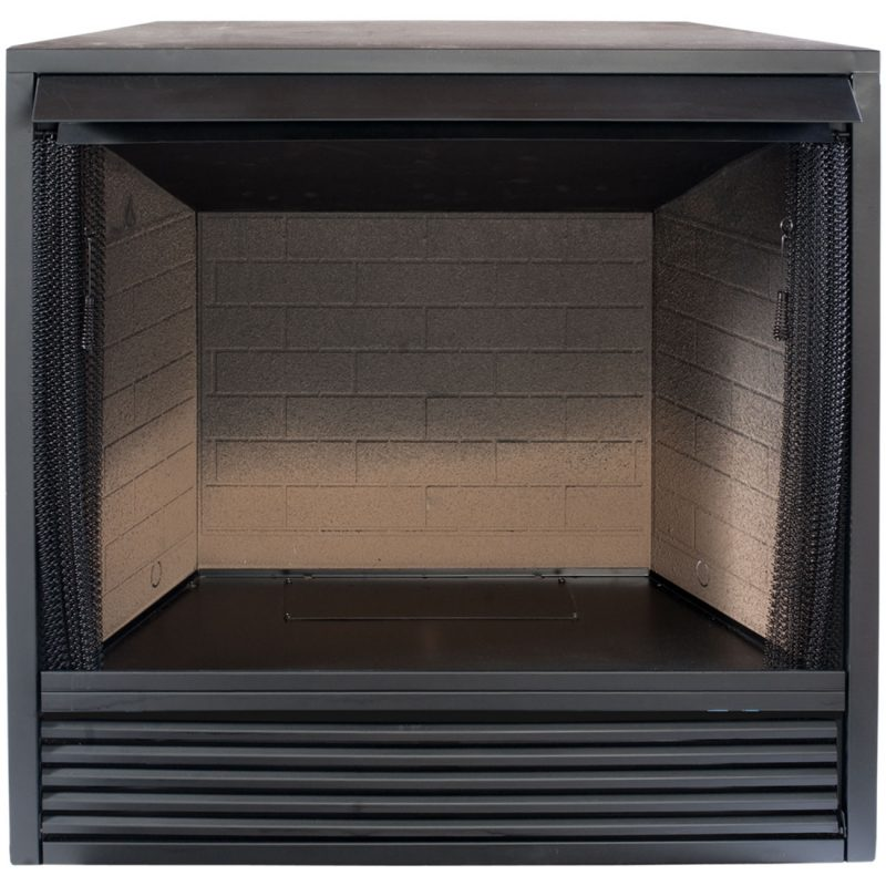 Fireplace Design fireplace firebox : Trim Kit for ProCom Ventless Fireplace Firebox - ProCom Heating