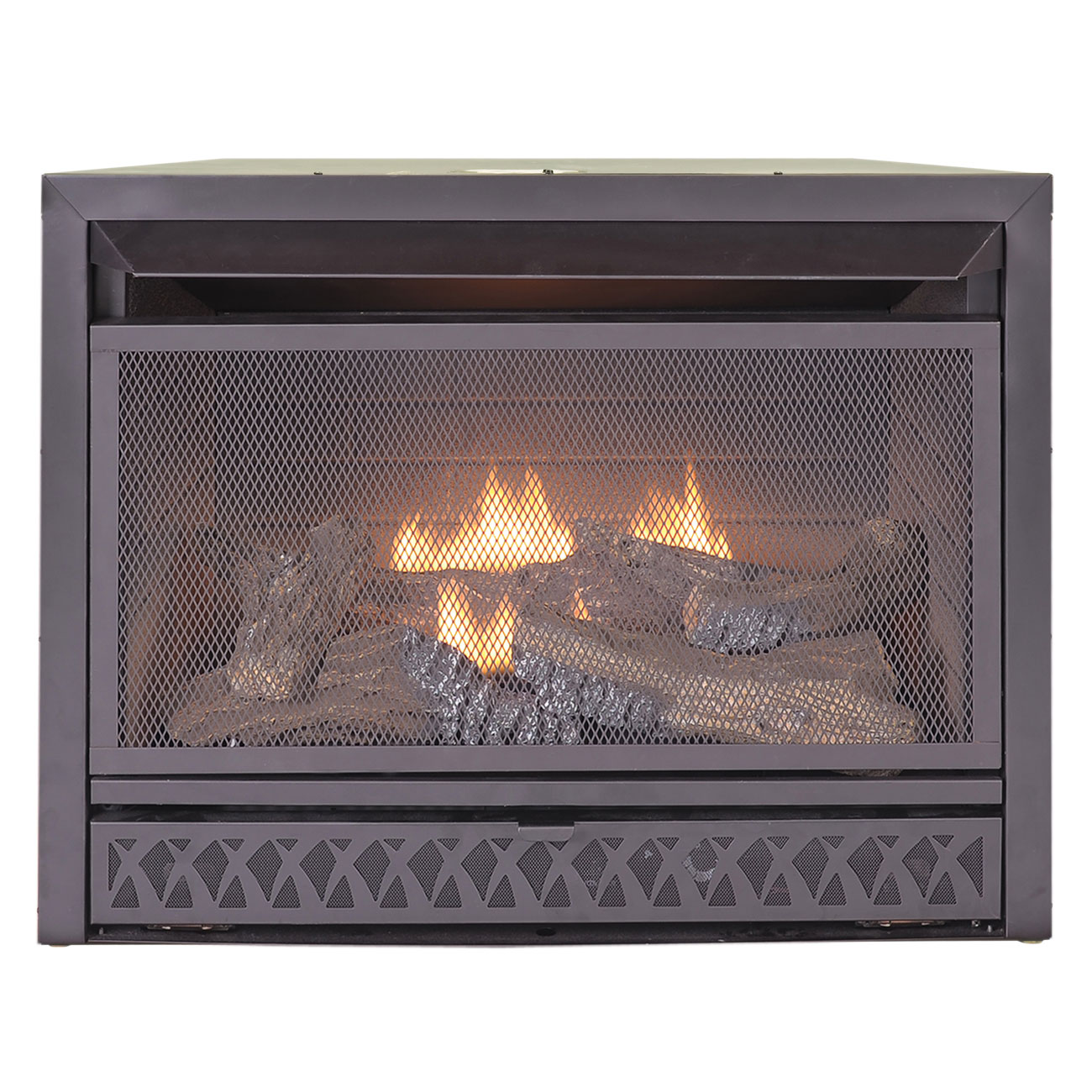 Gas Fireplace Insert Dual Fuel Technology 26 000 Btu