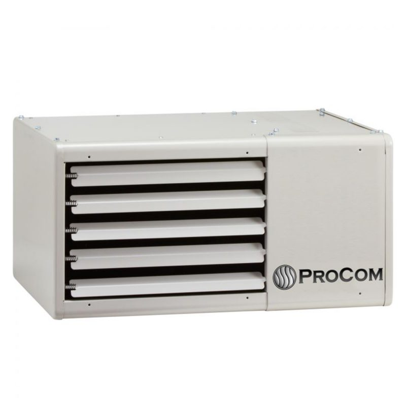 Garage heaters procom heating for Best propane heating systems