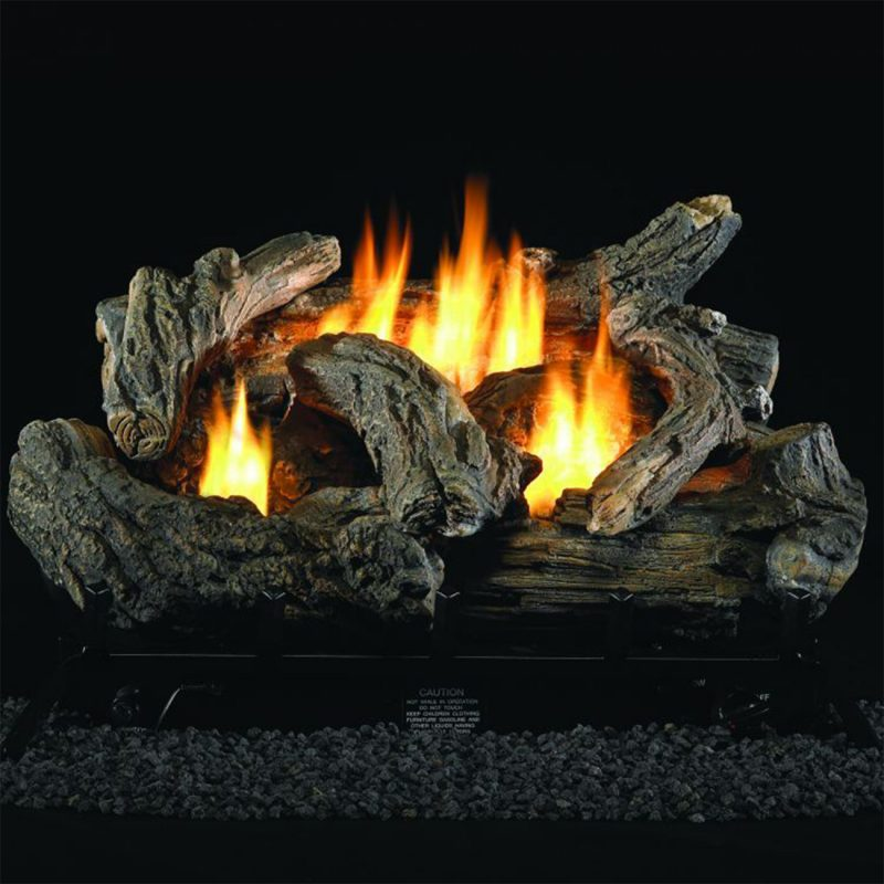 Image Result For In Vent Free Natural Gas Fireplace Logs With Remote