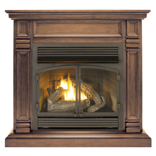 Fireplace Doesnt Heat: Ventless Fireplace System With Dual Fuel Technology With