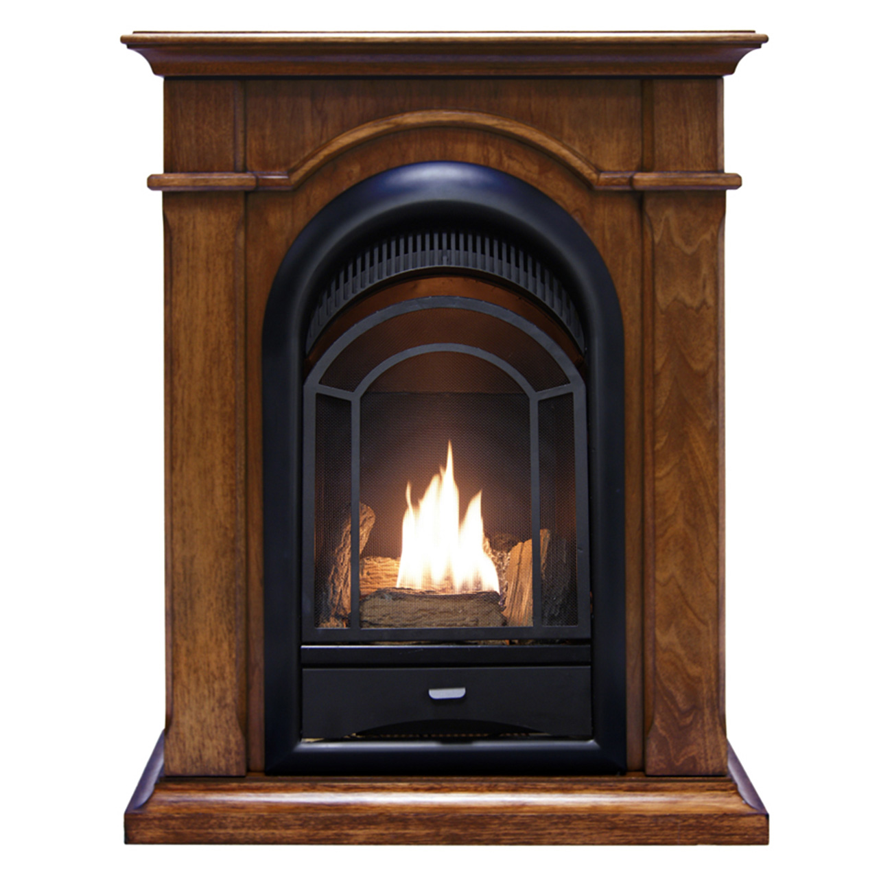 Pro Dual Fuel Ventless Fireplace 15 000 BTU s