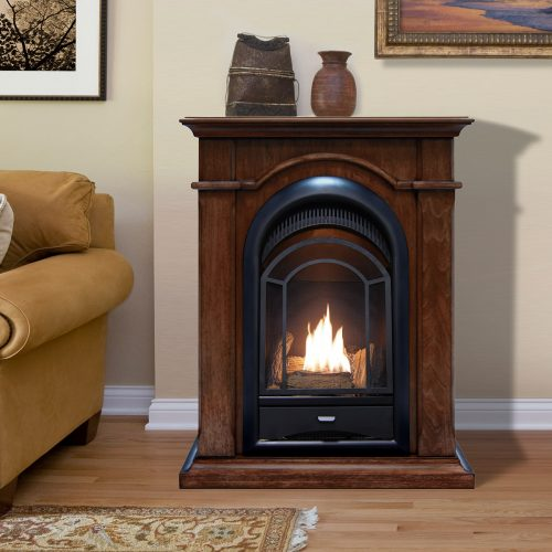 Procom Dual Fuel Ventless Fireplace 15 000 Btu 39 S