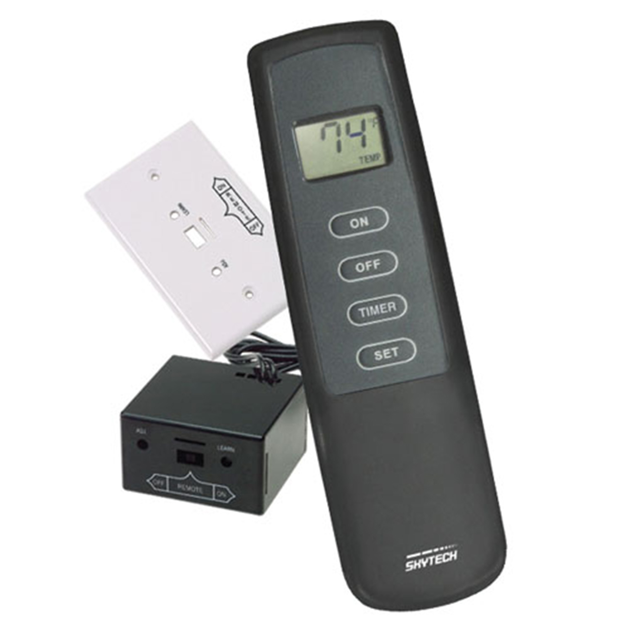 Skytech Hand Held Remote With Thermostatic Control And Lcd Display Wire Harness Plus Wiring Model 1001th A Procom Heating