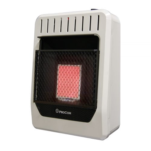 Ventless Dual Fuel Heater Thermostat Control Wall Heater