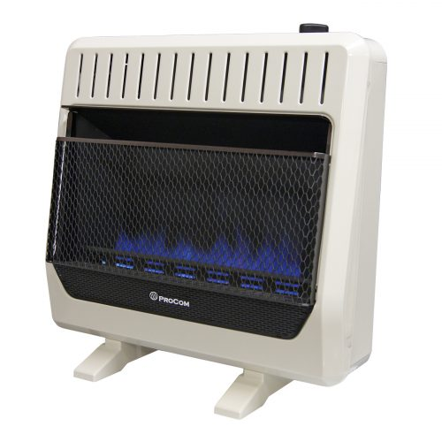 Ventless Dual Fuel Blue Flame Thermostat Control With Base