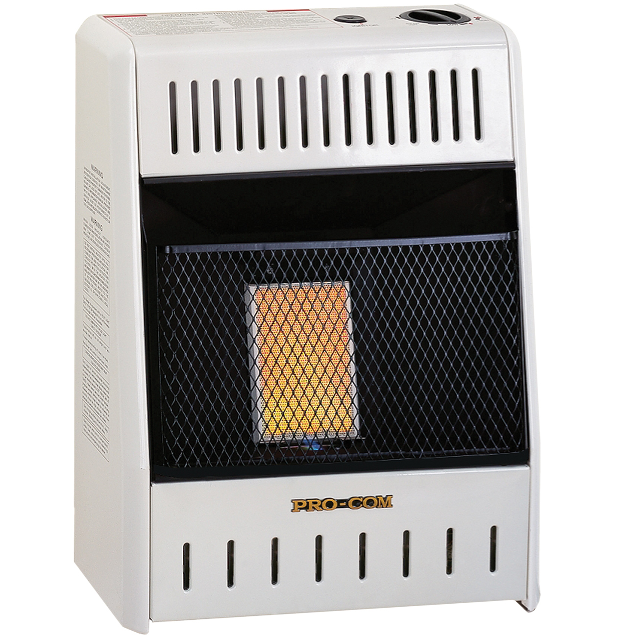 Ventless Propane Gas Single Plaque Wall Heater 6 000 Btu