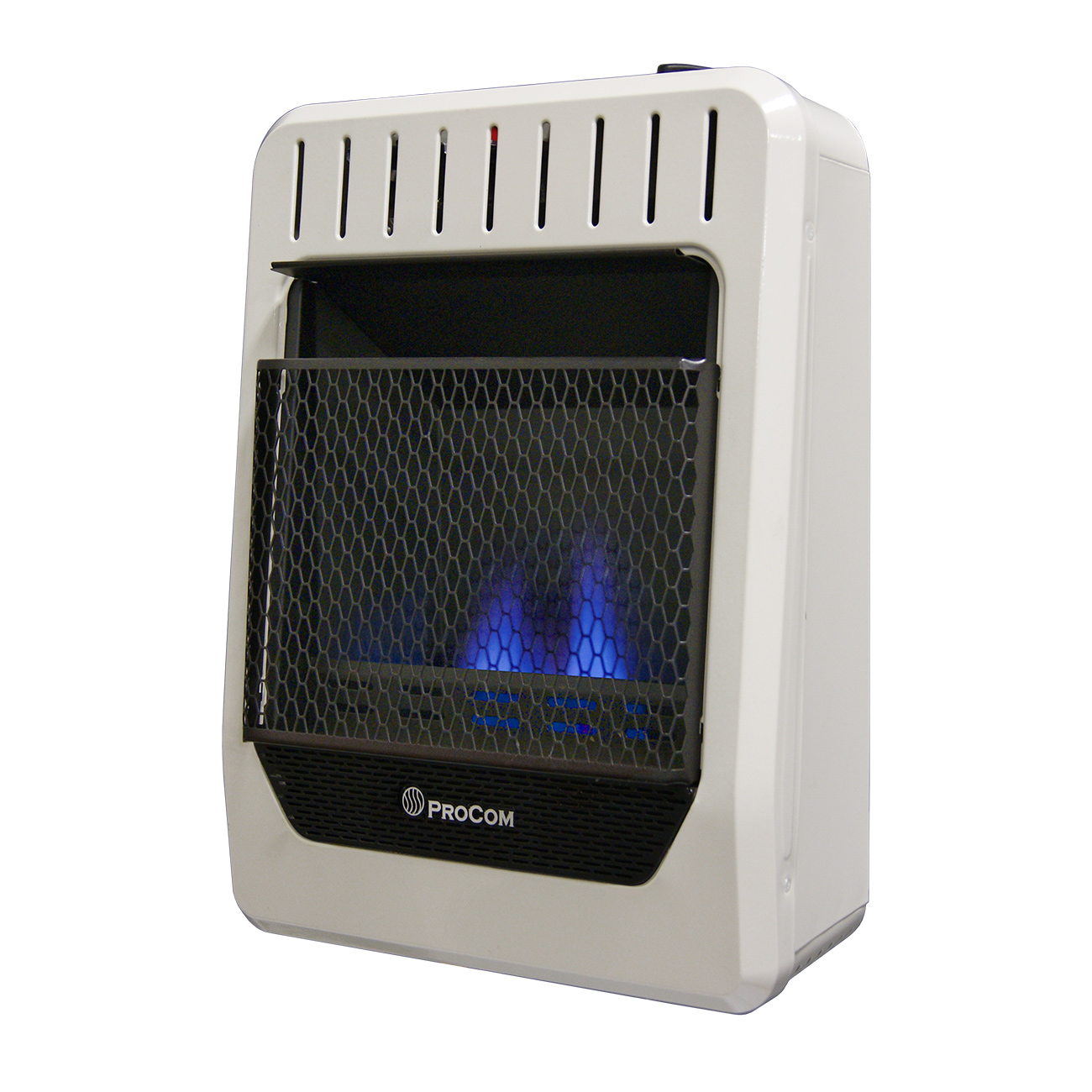 Ventless Propane Gas Blue Flame Wall Heater 10 000 Btu