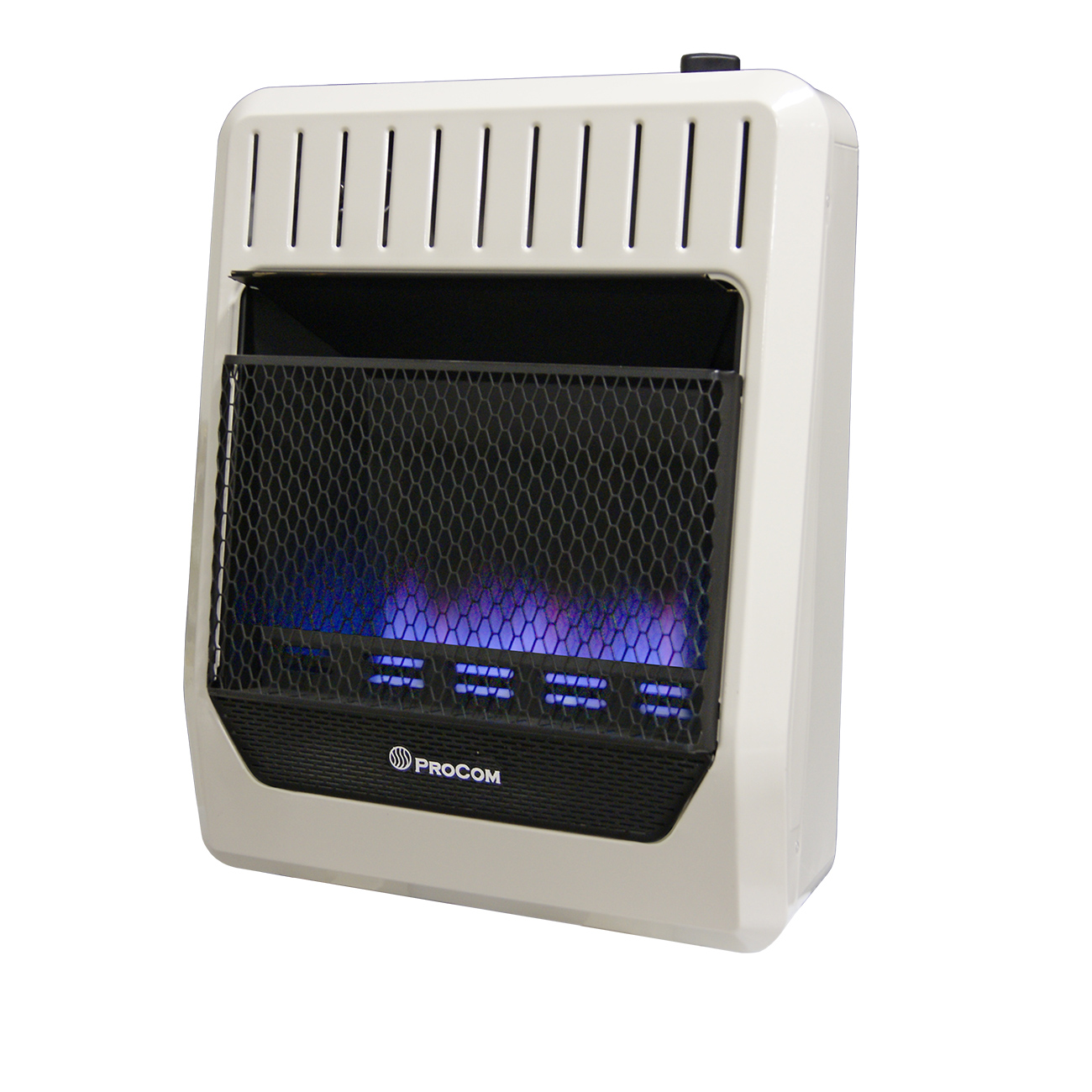Ventless Propane Gas Blue Flame Wall Heater 20 000 Btu