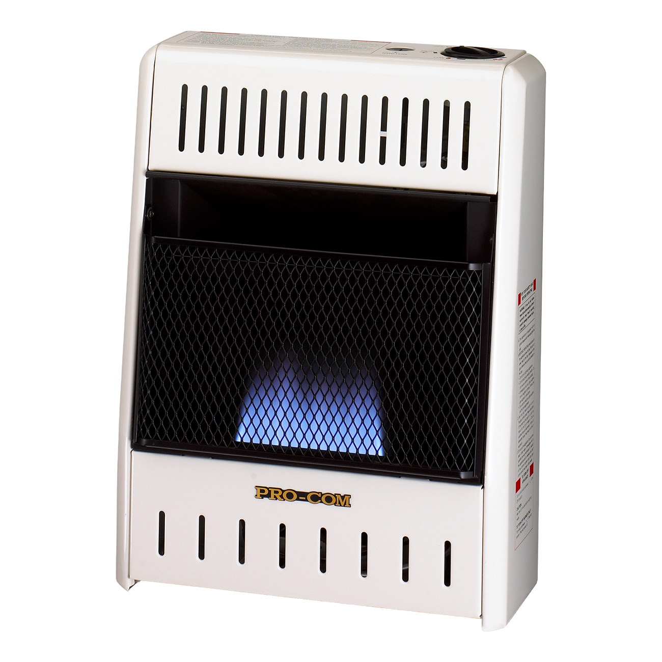 Ventless Natural Gas Blue Flame Wall Heater 6 000 Btu