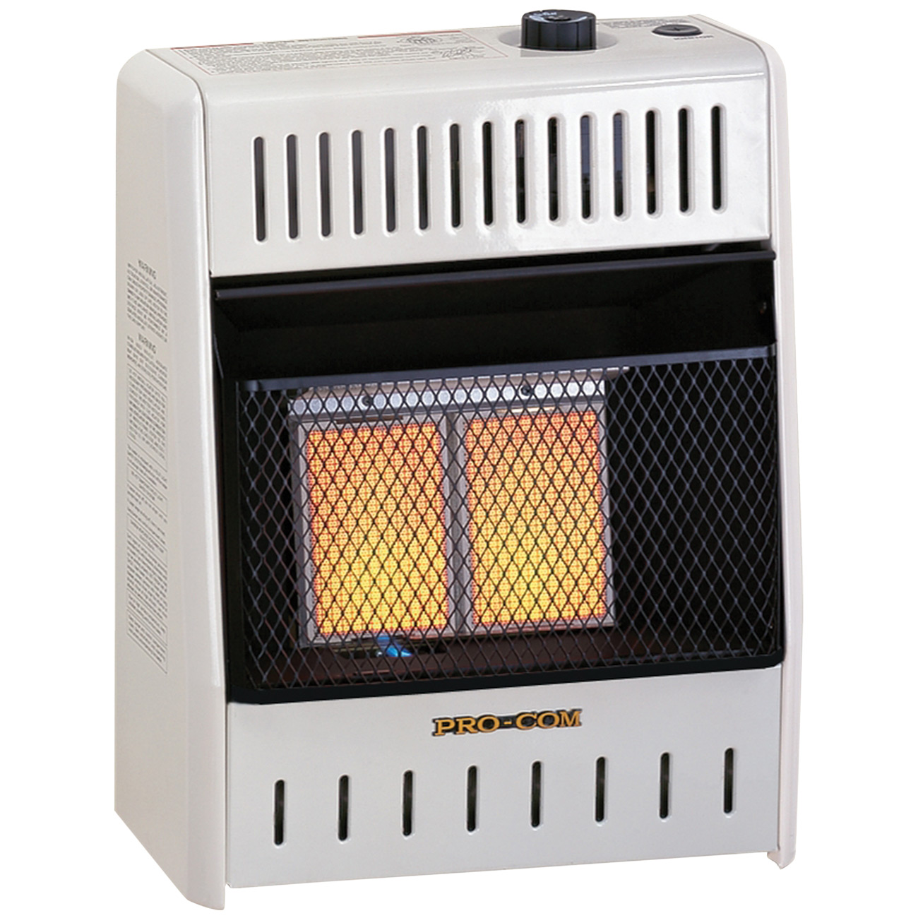 Ventless Infrared Natural Gas Wall Heater 10 000 Btu