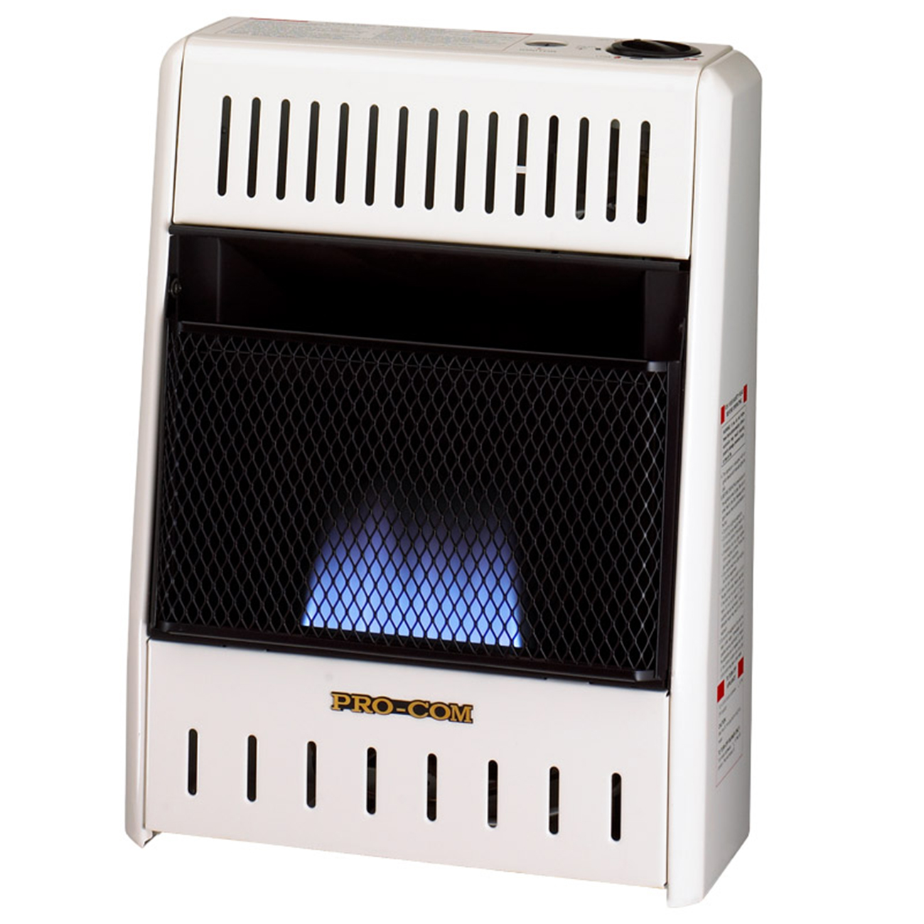 Dual Fuel Blue Flame Ventless Wall Heater 10 000 Btu