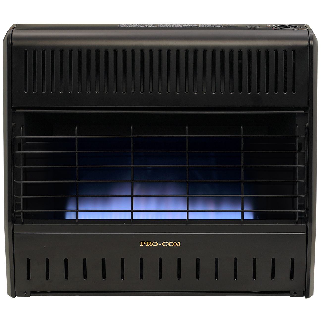 Ventless Dual Fuel Blue Flame Garage Heater - 30,000 BTU ...