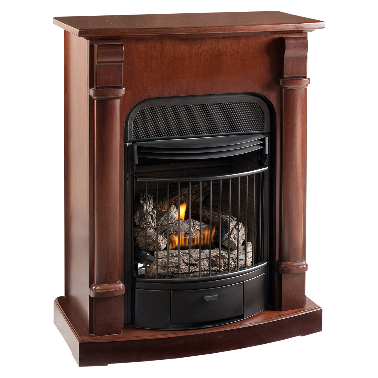 Fireplace Doesnt Heat: Ventless Gas Stove Model# CRHQD250T