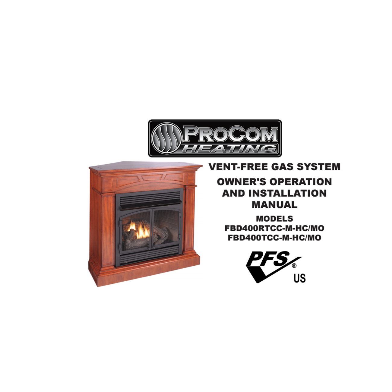Ventless fireplace insert with mantel fbd400rtcc series procom heating fbd400rtcc series procom heating teraionfo