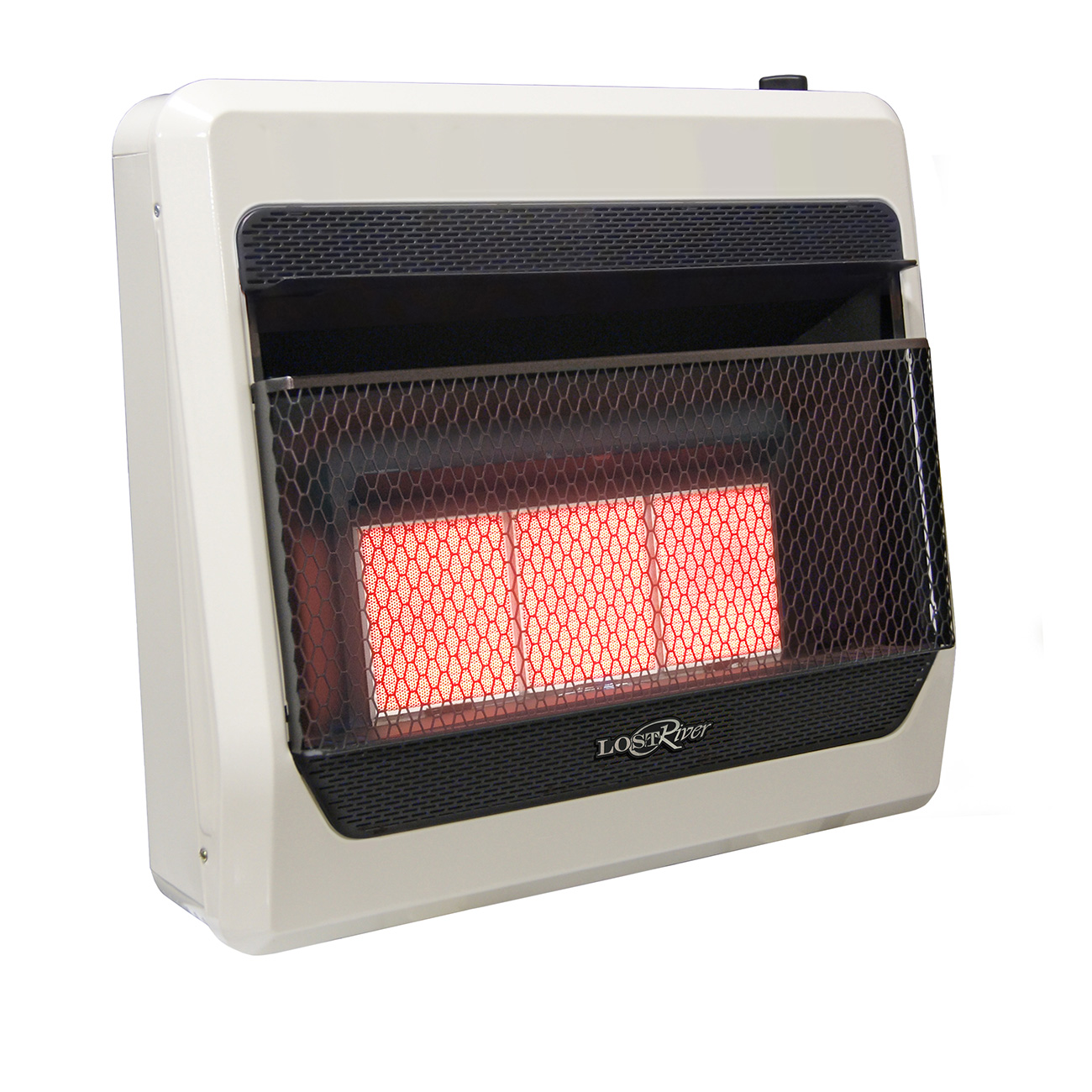 Lost river dual fuel ventless infrared radiant plaque for Radiant heat wall units