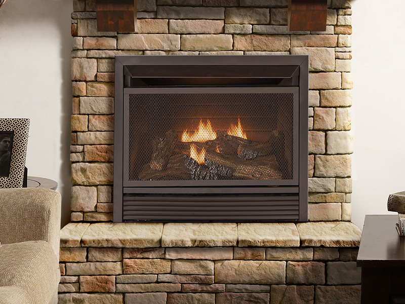 Convert Your Fireplace To Natural Gas With A Insert