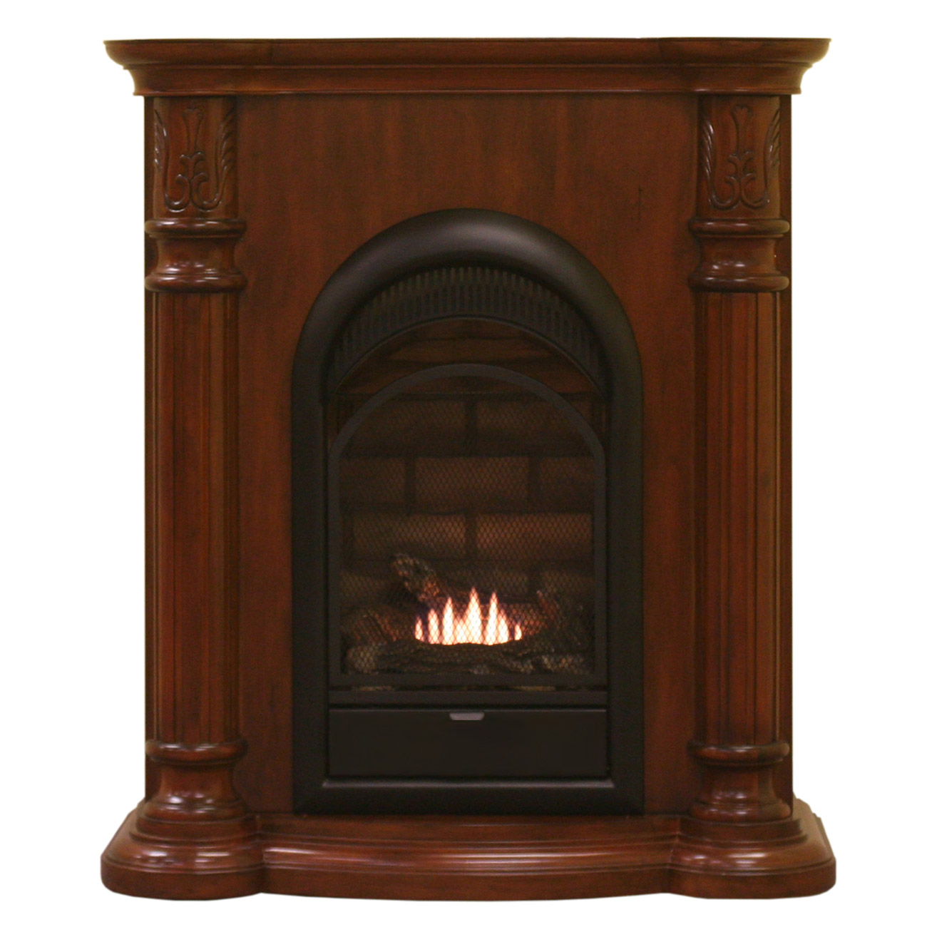 ProCom Heating Fireplace and Mantel Model AMF-CC