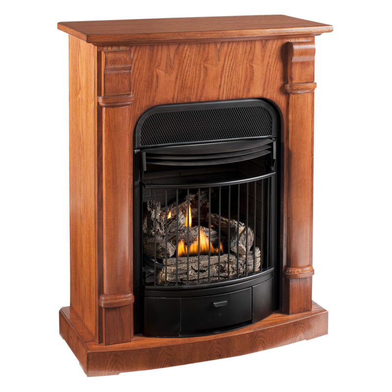 procom heating ventless fireplace model edp200t2mo